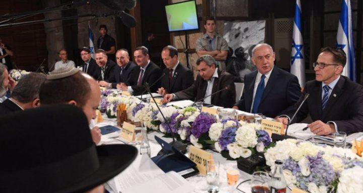 نتنياهو يأمر وزراء حكومته بعدم إصدار أي تصريحات