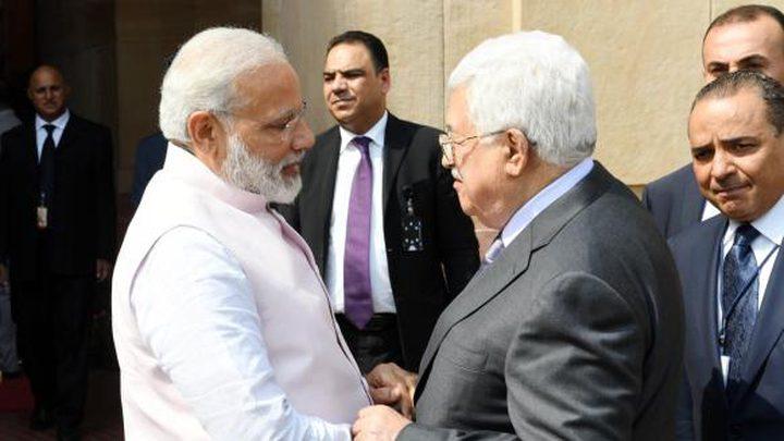 الرئيس: نعول على دور الهند للإسهام في تحقيق السلام العادل