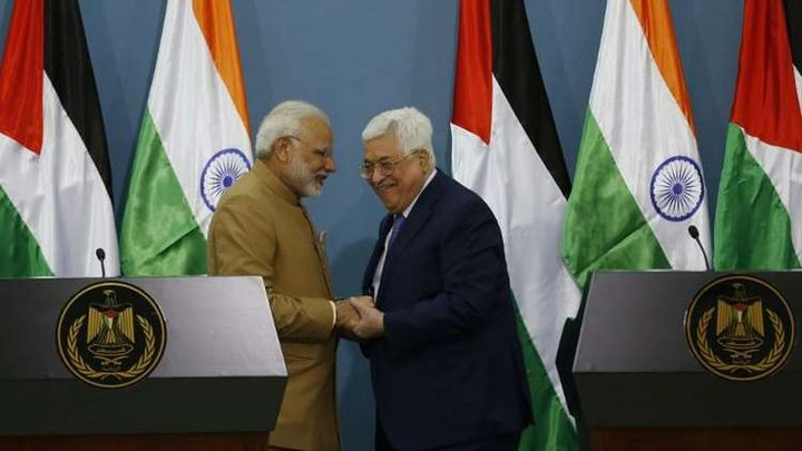رئيس وزراء الهند: نأمل أن تكون فلسطين حرة قريبا ولا حل إلا بالحوار