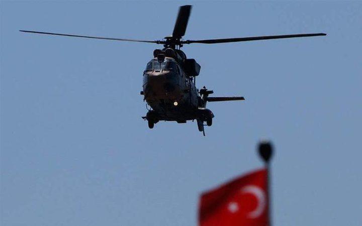أردوغان يؤكد إسقاط مروحية عسكرية تركية خلال العمليات العسكرية في شمال سوريا