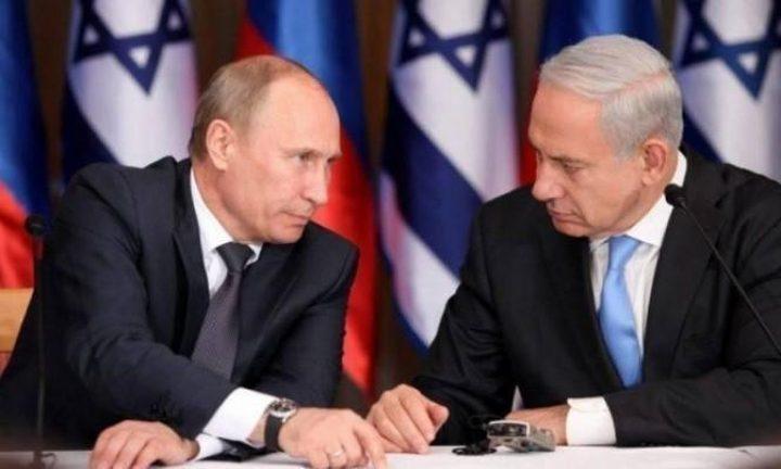 نتنياهو يهاتف بوتين.. ماذا أبلغه؟