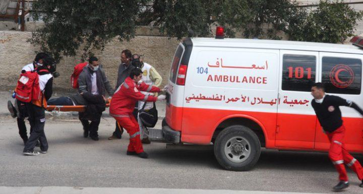 إصابة 8 مواطنين في حادثي سير غرب غزة