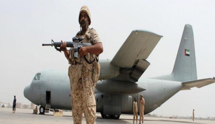 الإمارات تهدد بقصف مواقع هادي لإطلاق ضباط صالح