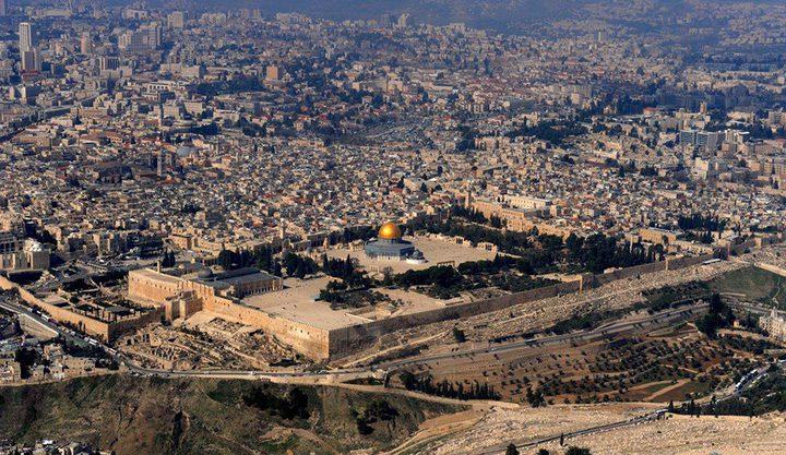 تقرير: بلدية الاحتلال تستغل الموقف الأمريكي لتسريع عمليات التهويد