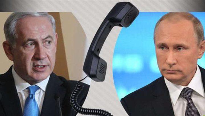 """قناة عبرية: قلق """"إسرائيلي"""" من تحذير بوتين لنتنياهو"""