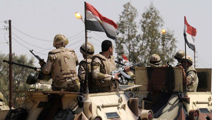 الجيش المصري يعلن النتائج الأولية لعملية سيناء 2018