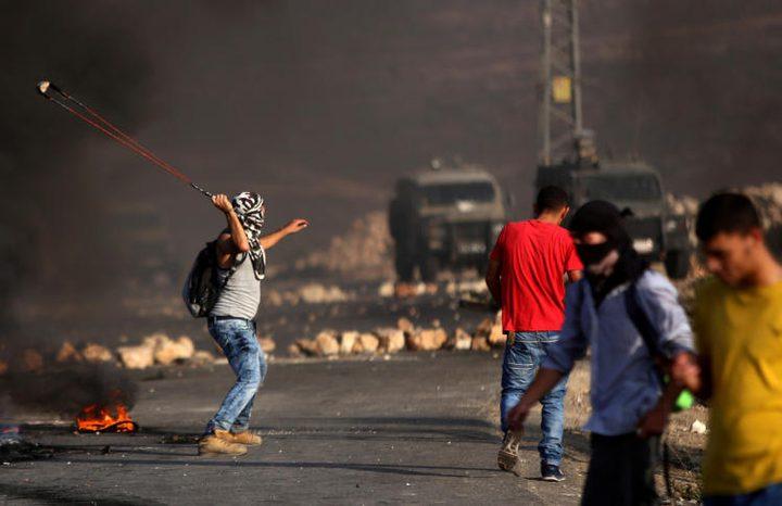 مواجهات مع الاحتلال في قرية دير نظام