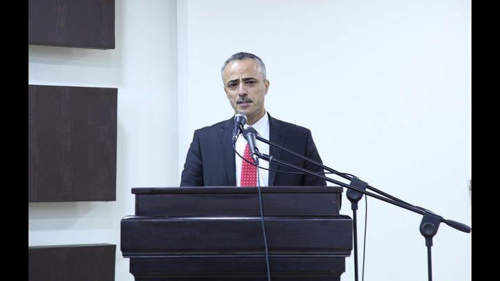 """أبو دياك يبحث مع مدير مكتب """"ديكاف"""" سبل تعزيز التعاون"""