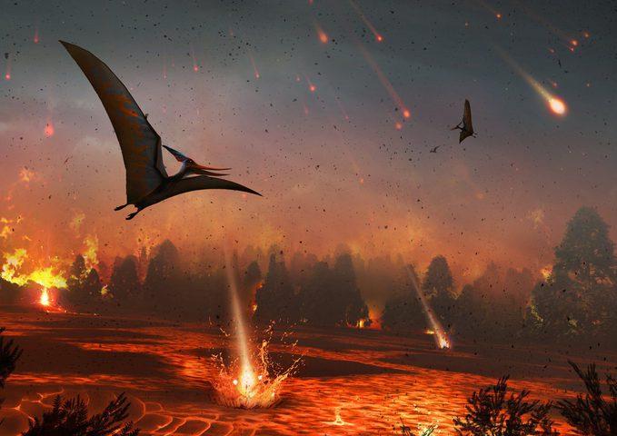 الكشف عن سبب محتمل لانقراض الديناصورات