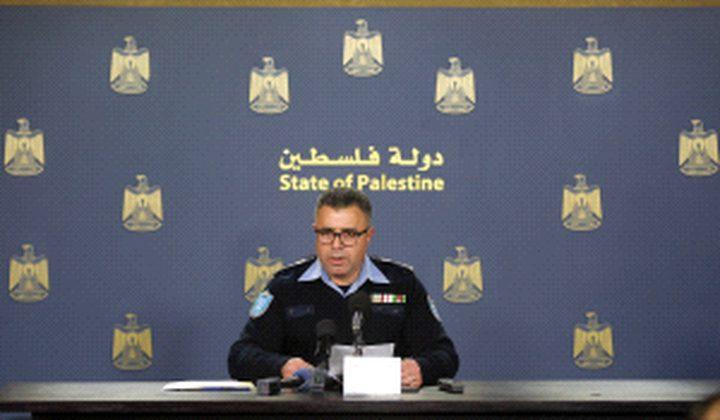 الشرطة: أنجزنا أكثر من 27 ألف قضية خلال العام 2017