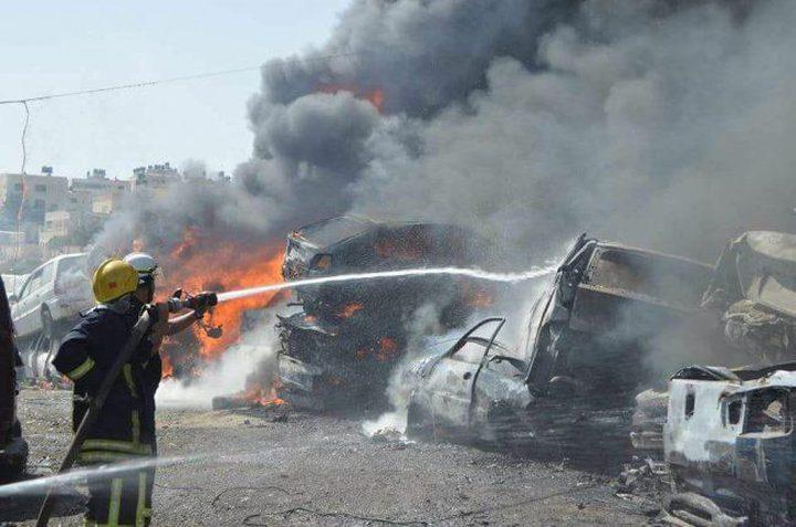 الدفاع المدني يتعامل مع 24 حادث حريق وإنقاذ أمس