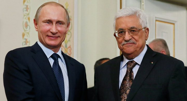 عباس وبوتين يبحثان آخر التطورات السياسية اليوم