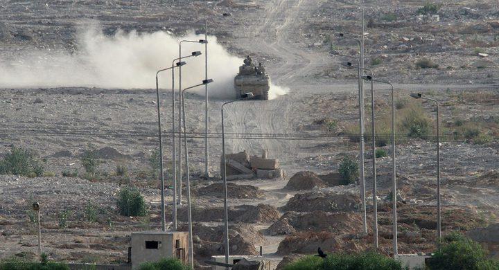 مصر: العملية الأمنية في سيناء لا تستهدف إخلاءها أو توطين الفلسطينيين فيها