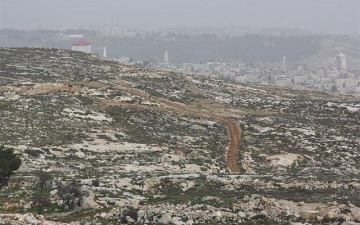 الاحتلال يصدر اربعة أوامر للاستيلاء على أراضٍ جنوب بيت لحم