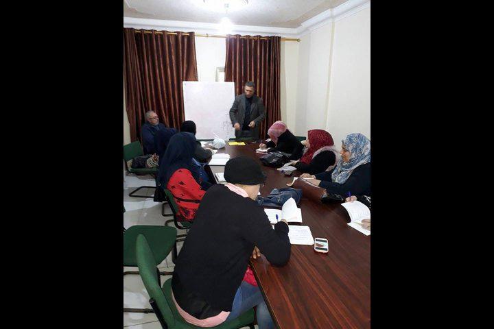 التعبئة الفكرية بحركة فتح غرب غزة تفتتح المستوى الثاني من دوراتها