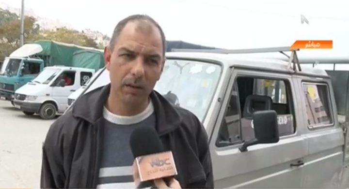 معاناة سائقي شاحنات النقل في نابلس(فيديو)