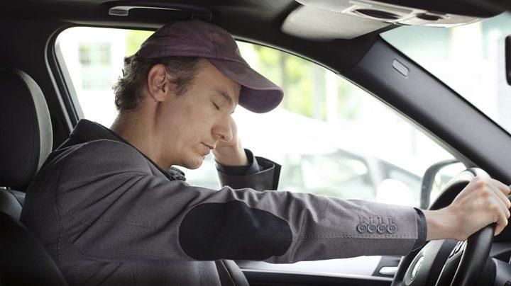 التعب والإجهاد أثناء القيادة مساو للقيادة تحت تأثير الكحول