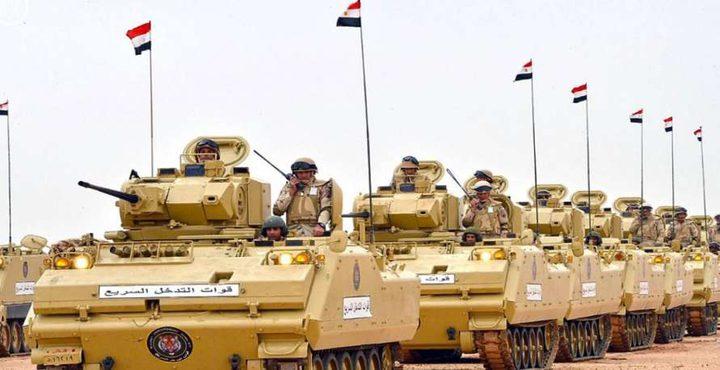 مصر: الجيش يواصل عمليته العسكرية في سيناء ويقتل 12 مسلحًا