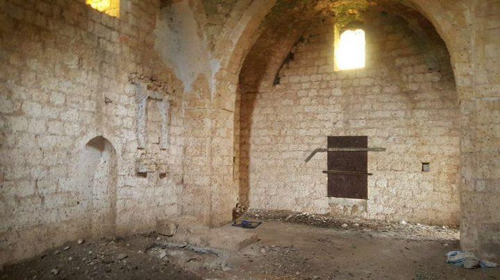الاعتداء على مسجد قرية الغابسية المهجّرة بالجليل