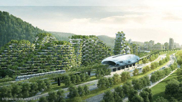 """تشيد أول مدينة """"مغطاة بالغابات"""" في العالم"""
