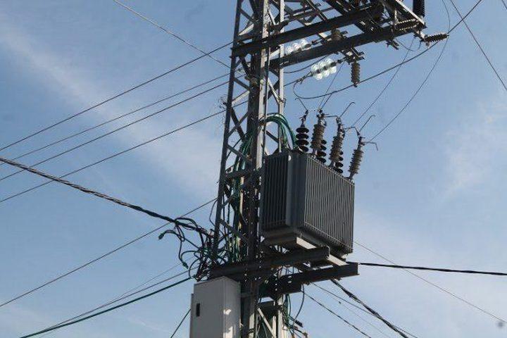 رفع القدرة الكهربائية لمدينة قلقيلية بـ 7.5 ميغاواط