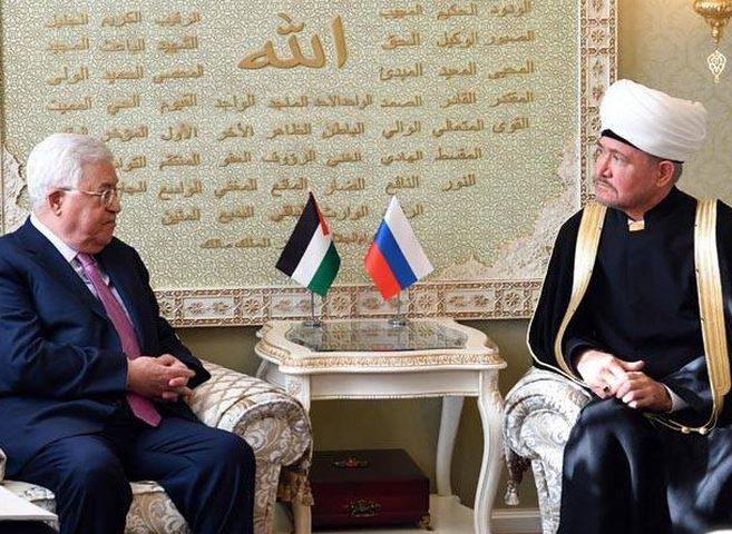 الرئيس يطلع مفتي روسيا على آخر التطورات بشأن القدس