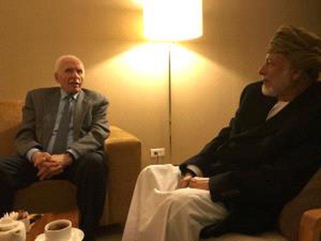 الأحمد يطلع وزير الخارجية العماني على الإجراءات الإسرائيلية ضد شعبنا