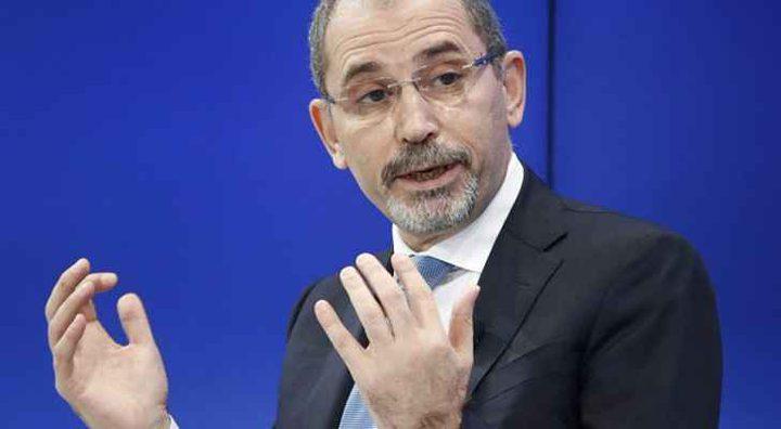 وزير الخارجية الأردني: نسعى لإحلال السلام والأمن بالشرق الأوسط