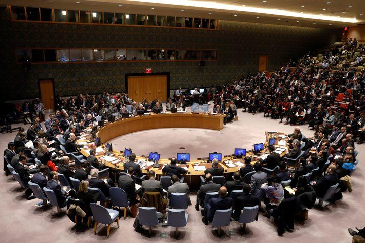 مجلس الأمن يعقد جلسة طارئة لبحث أوضاع قطاع غزة