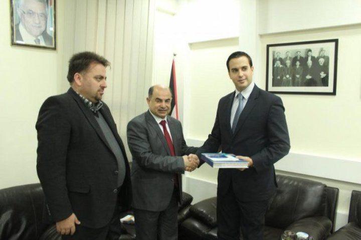 سفير هنغاريا: العلاقات الهنغارية الفلسطينية مميزة وسنعززها اقتصاديا