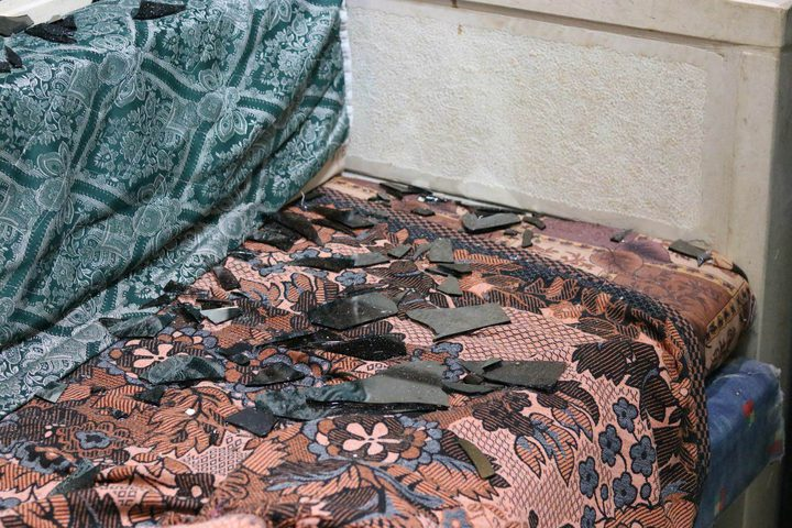 """نابلس: المستوطنون يعتدون على منازل المواطنين في عصيرة القبلية """"صور"""""""