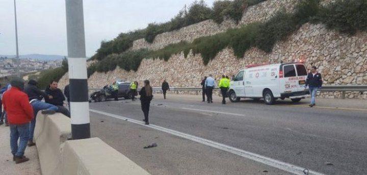مصرع شاب من الناصرة بحادث سير