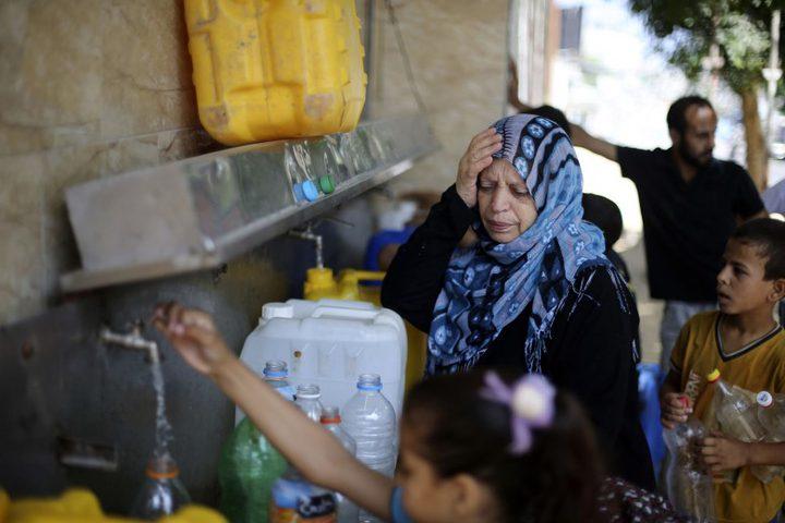 """الأمم المتحدة: إغلاق المعابر وتمويل """"أونروا"""" سبب أزمة غزة"""