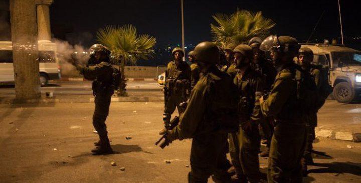 """اندلاع مواجهات مع قوات الاحتلال في """"زبوبا"""" غرب جنين"""