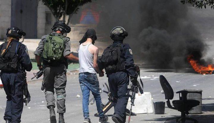 قوات الاحتلال تقمع مسيرة سلمية وتعتقل فتى