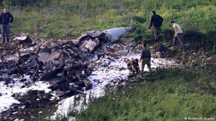 إعفاء طياران من سلاح الجو الإسرائيلي بعد إسقاط الدفاعات السورية لطائرتهم