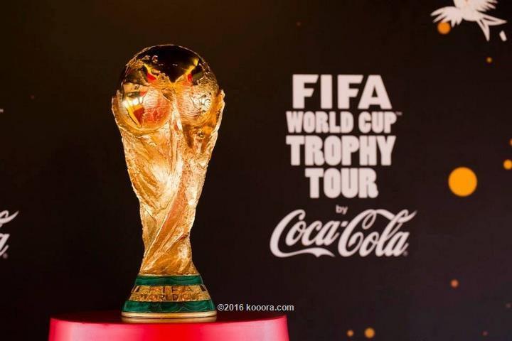 """""""كأس العالم"""" تحط للمرة الثانية في فلسطين"""