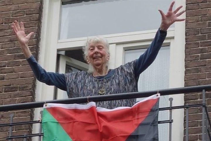 وفاة ناشطة هولندية مدافعة عن حقوق الشعب الفلسطيني