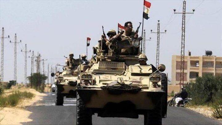 الجيش المصري يعلن مقتل 7 مسلحين وتوقيف 408