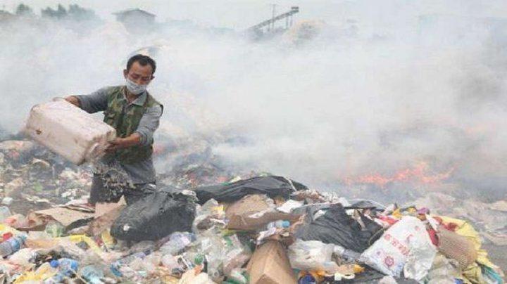 مصرع 9 أشخاص بحريق منشأة نفايات جنوبي الصين