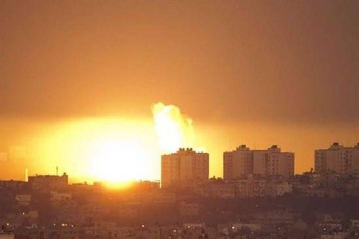 شهيدان في قصف طائرات الاحتلال لغزة