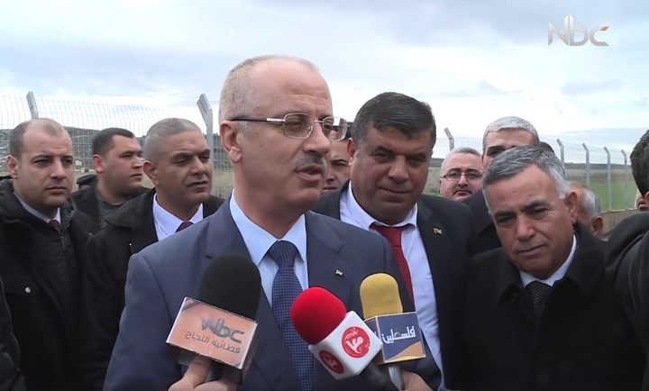 افتتاح خط ناقل للمياه في بلدة عقابا (فيديو)