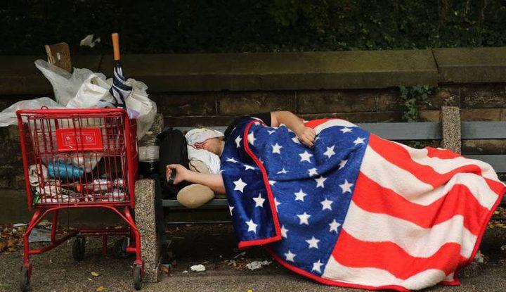 نصف مليون أمريكي مشرد بلا منازل