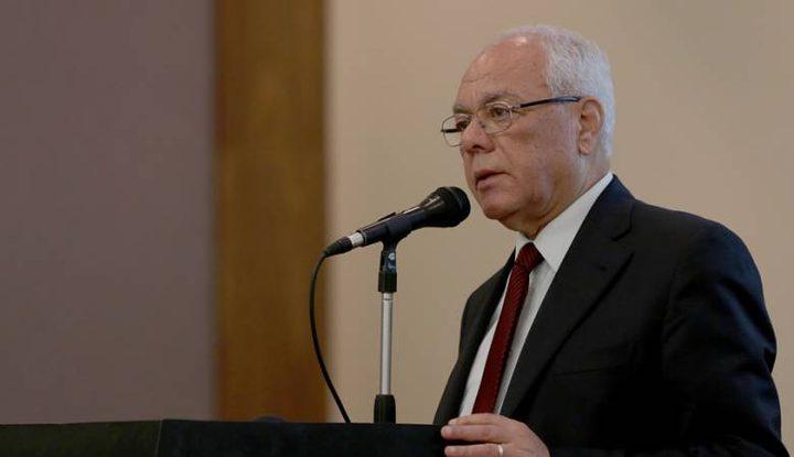 أمين عام الرئاسة يستقبل سفير مصر الجديد لدى فلسطين