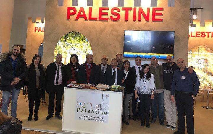 فلسطين تختتم مشاركتها في معرض السياحة الدولي في التشيك
