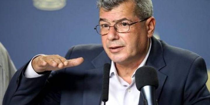قراقع يطالب بإدراج البرلمان الاسرائيلي كبرلمان عنصري ومعادِ للديموقراطية وحقوق الانسان