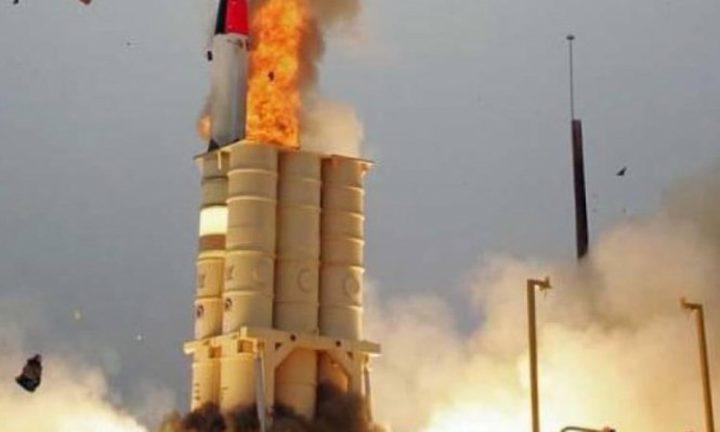 """إسرائيل تعلن نجاح تجربة منظومة الصواريخ الاعتراضية """"حيتس 3"""""""