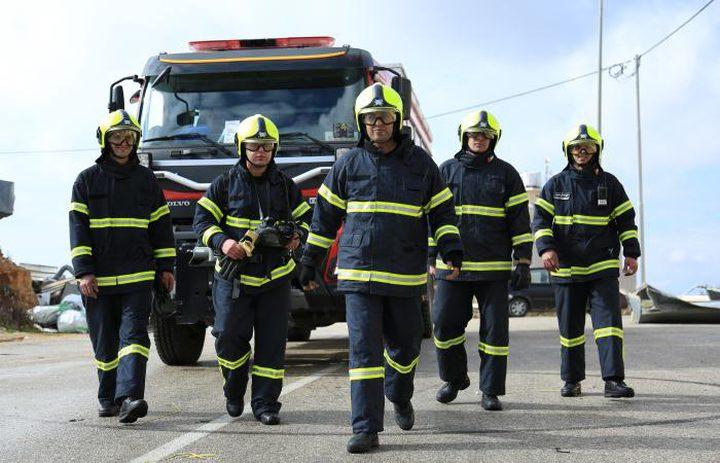 الدفاع المدني يتعامل مع 28 حادث حريق وإنقاذ أمس الأحد