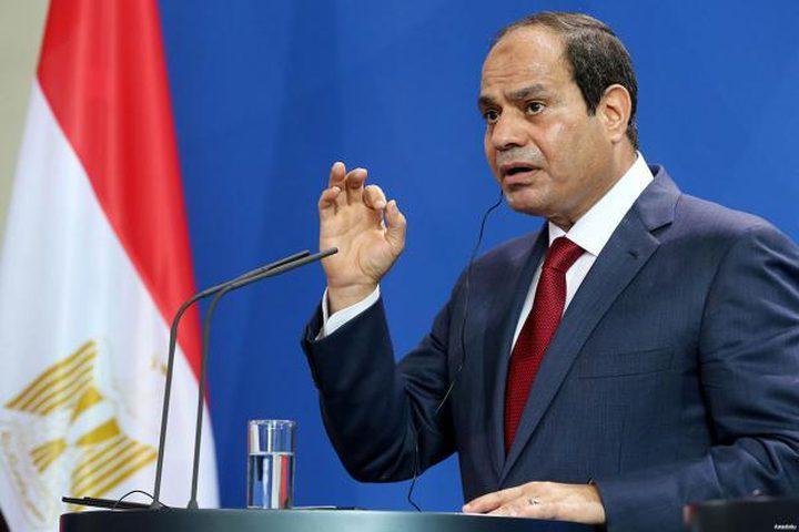 السيسي: اتخذنا إجراءات لم يتم الإعلان عنها دفاعا عن مصر