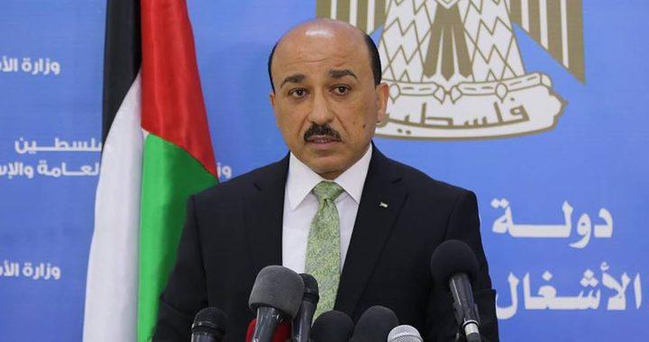الحساينة يثمن جهود دولة قطر في دعم الشعب الفلسطيني